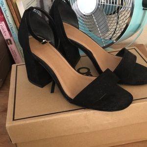 ASOS Heartache heeled sandals